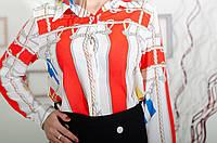 Женская  шелковая блузка
