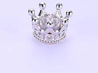 Бусина корона (2),  серебро