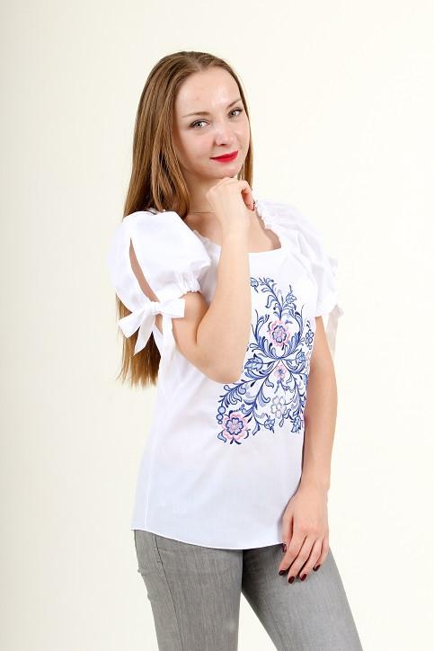 "Блуза - вышиванка ""Узорное чудо"""