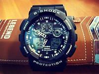 Неубиваемые часы Casio G-Shock GA 100 Спортивные +Нож Кредитка!
