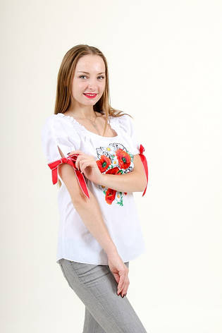"""Блуза - вышиванка """"Воздух"""", фото 2"""