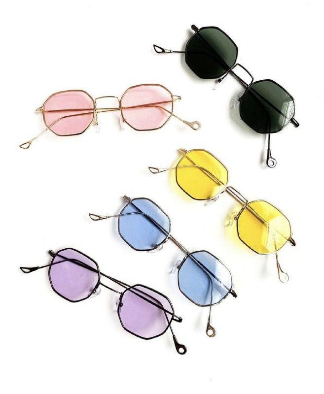В расцветках многоугольные солнцезащитные очки v6150