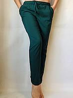 Батальные женские летние штаны , софт