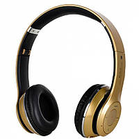 Bluetooth наушники S460 аналог beats solo2 --- ЗОЛОТЫЕ  D10215