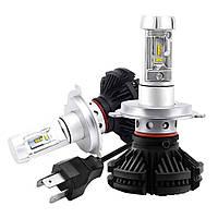 Комплект светодиодных LED ламп Xenon X3 H4 D10215