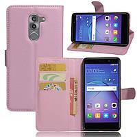 Чехол-книжка Litchie Wallet для Huawei GR5 2017 Светло-розовый