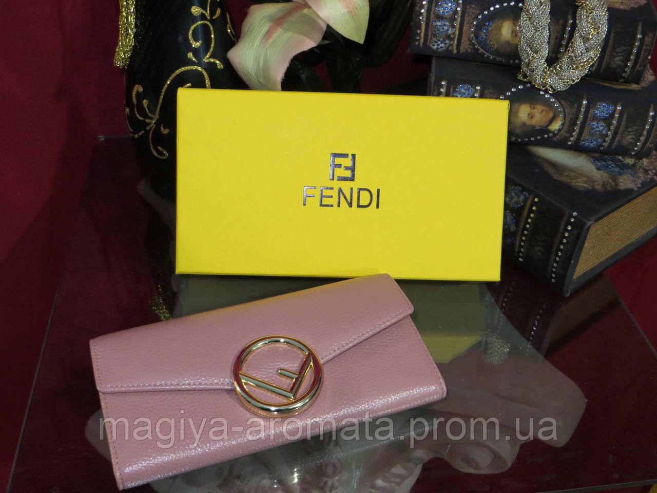f8459e6a3ac5 Женский кошелёк от Фенди, натуральная кожа, цвет пудровый с золотом , цена  1 990 грн., купить в Киеве — Prom.ua (ID#941867132)