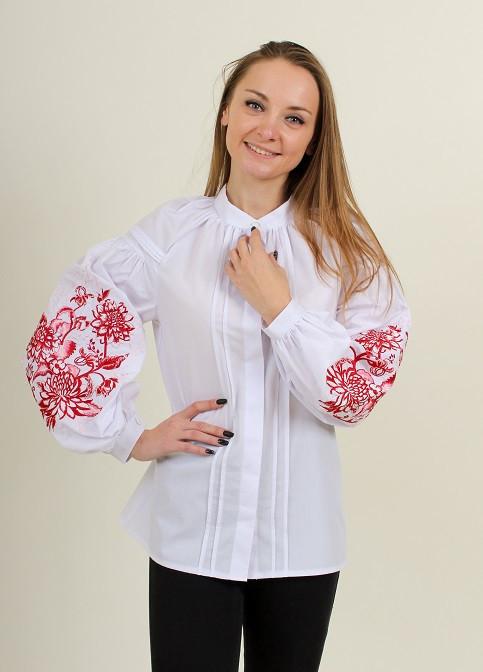 """Блуза - вышиванка """"Розовая флета"""""""