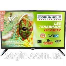 Телевизор Grunhelm GTV32T2 32 дюйма