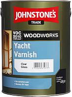 Johnstones Yacht Varnish 5 л Лак для дерева для наружных работ