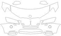 Стандартный набор для BMW X3 2011-