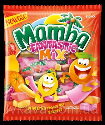 Жевательные конфеты Strock Mamba Fantastic Mix, 150 гр