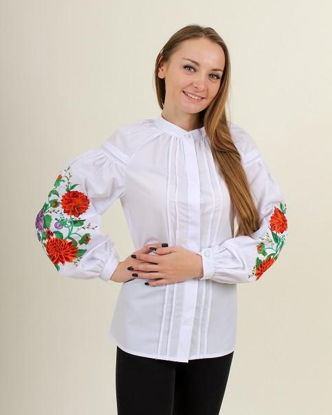"""Блуза - вышиванка """"Волшебство белой ночи"""""""