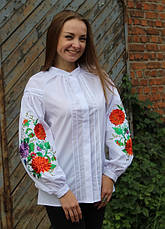 "Блуза - вышиванка ""Волшебство белой ночи"", фото 2"