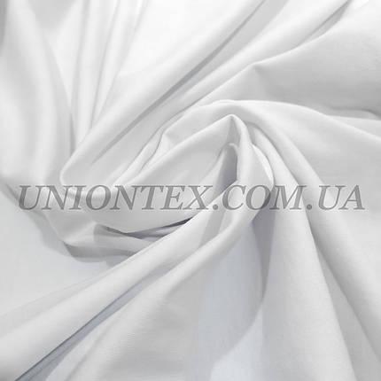 Стрейч кулир пенье белый, ширина 180см, фото 2