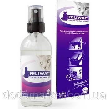 Успокоительное для кошек Феливей Сева (Faliway Ceva) спрей 60 мл