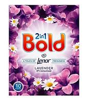 """Стиральный порошок Bold 2 в 1 """"Лаванда и ромашка"""" 10 стирок (650г.)"""