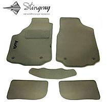 BYD F3 2005-2014 Комплект из 5-х ковриков ворсовый FORTUNA GREY Серый в салон