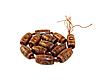 Заготівля з агата Дзі ,коричневий