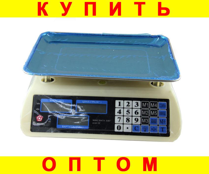 Весы торговые Domotec ACK MS 587 40kg 6v D10231