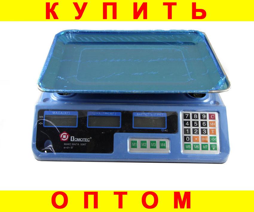 Весы торговые Domotec ACK MS 987 40kg 6v D10233