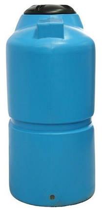 Бак, бочка 1000 литров слимс отстойник, емкость пищевая транспортабельная вертикальная B, фото 2