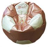 Кресло-мяч пуф с именем, фото 8