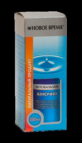 """Фитобальзам """"Женский"""" Новое время, 100 мл"""