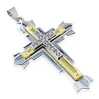 """Кулон в виде Креста из нержавеющей стали (Stainless Steel)  """"Algat"""""""