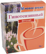 """Фиточай """"Гипотензивный"""" Новое время, 75 г"""