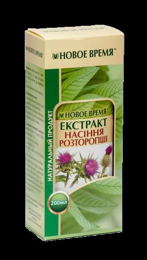 Экстракт семян расторопши Новое время, 200 мл