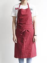 Японский краткий твердый цвет льняного хлопка Винтаж Pinafore Платье - 1TopShop, фото 2