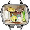 LEQUEEN Mummy Maternity Nappy Diaper Сумка Большие возможности Baby Shoulder Сумка На открытом воздухе / Travel Backpack - 1TopShop, фото 2