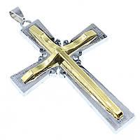 """Кулон в виде Креста из нержавеющей стали (Stainless Steel)  """"Fomas"""""""
