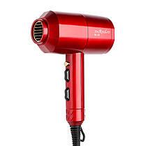 1200W бытовой портативный термостат сверхзвуковой Волосы сушка красный черный - 1TopShop, фото 3