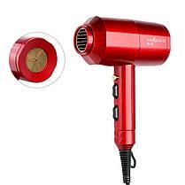 1200W бытовой портативный термостат сверхзвуковой Волосы сушка красный черный - 1TopShop, фото 2
