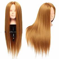 26 Длинный Волосы Тренировочный Манекен-Голова Модель ВолосыОформление Макияж Практика с держателем Зажим - 1TopShop, фото 3