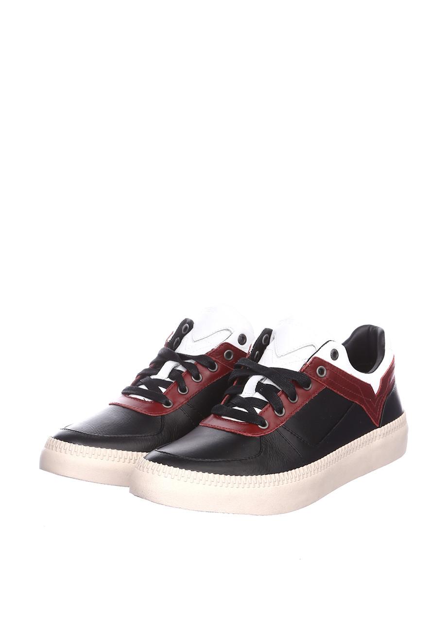 Кроссовки мужские Diesel цвет черно-красный размер 41 42 43 46 арт Y01367PR013H6031