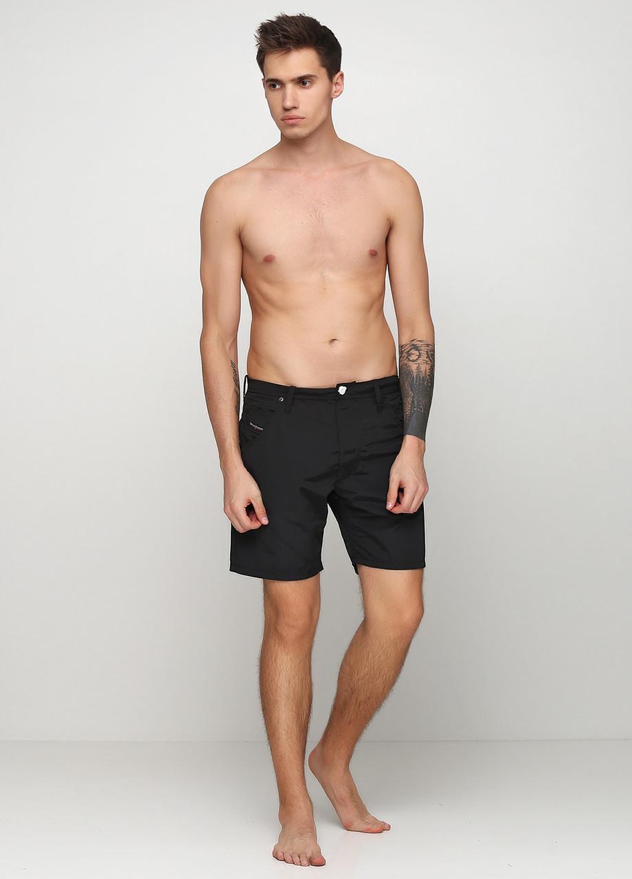 Шорты мужские DIESEL цвет черный размер 32 арт 00S0L70NABW900