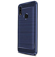Противоударный TPU чехол iPaky Slim Series для Huawei P Smart (2019) Dark Blue