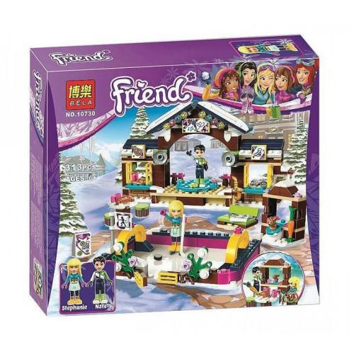 "Конструктор Bela 10730 ""Гірськолижний курорт: каток"" (аналог LEGO Friends 41322), 313 деталей"