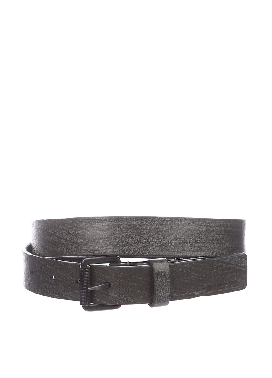 Ремень унисекс DIESEL цвет темно-серый размер 95 100 арт X03969PR602T7167