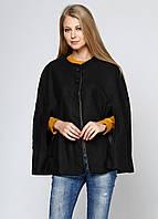 Полупальто женское ZARA цвет черный размер S арт 8020/319/800