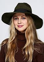 Шляпа женская DIESEL цвет болотный размер 54 арт 00SJVR0BA