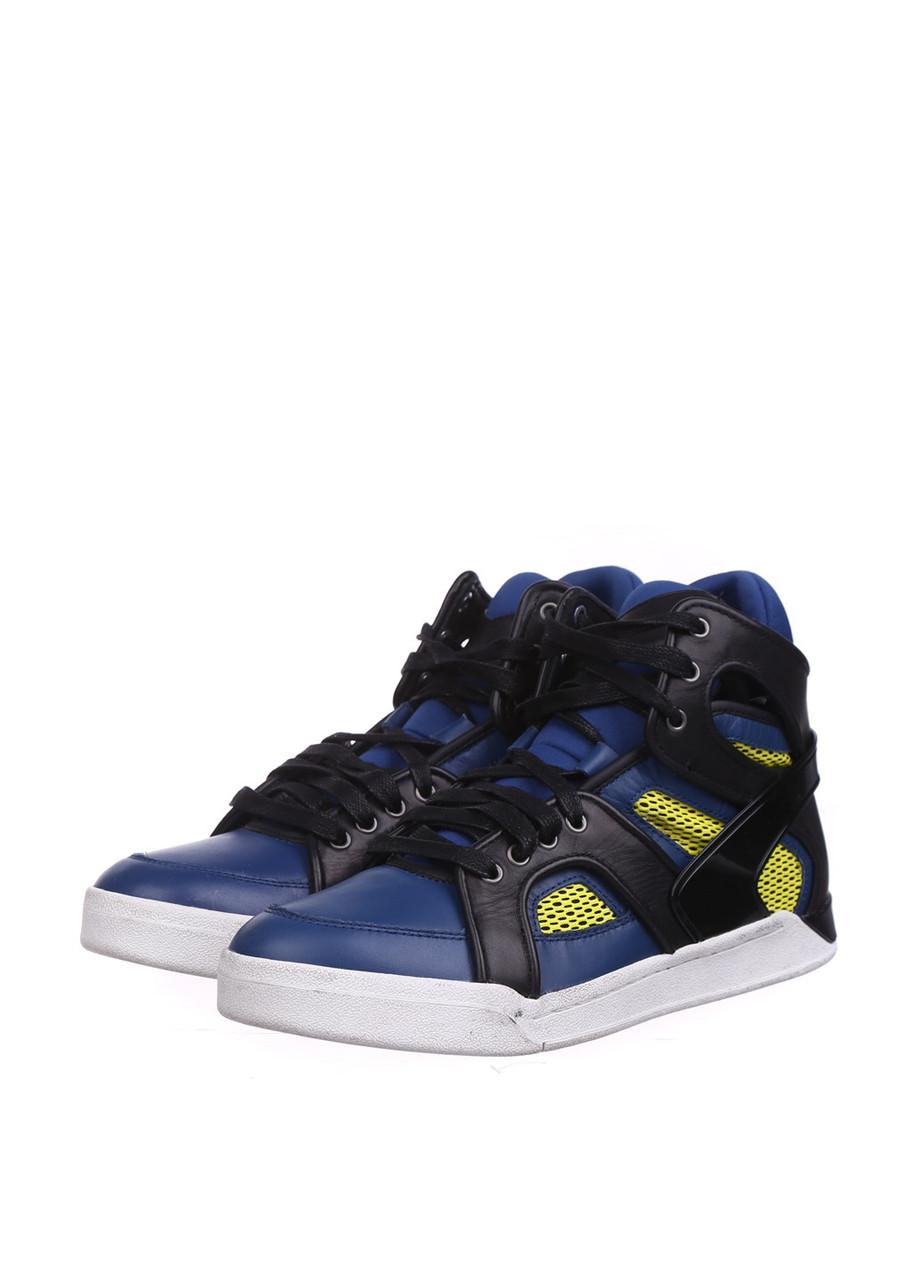 Кроссовки мужские Diesel цвет сине-черный размер 43 арт G01266P0909H5934