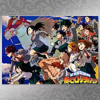 Плакат Аниме Boku no Hero Academia 014
