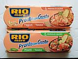 Тунец Rio Mare ProntoConGusto с томатом и фасолью Fagioli e Tonno, 3х160 г., фото 3