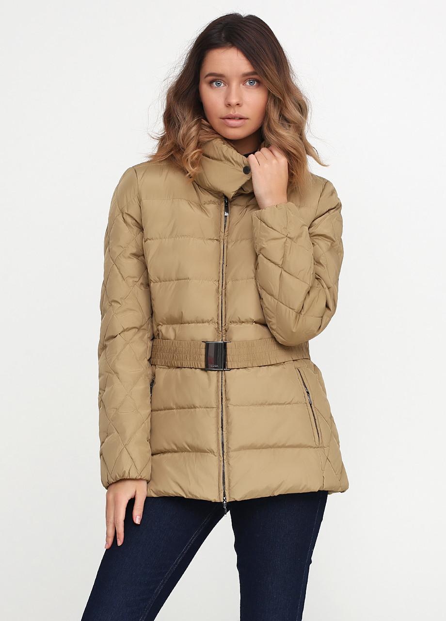 Куртка женская GEOX цвет бежевый размер 44 арт W6425ET0407F5134