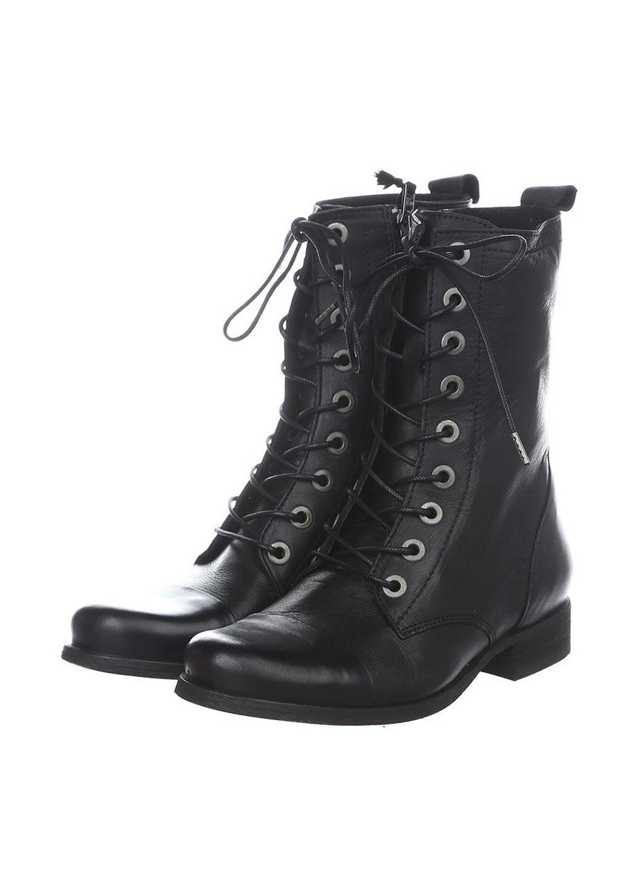 Ботинки женские Diesel цвет черный размер 41 арт Y00614P1208T8013, фото 1