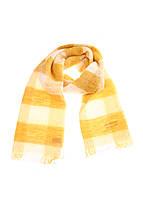 Шарф женский Maison Scotch цвет желто-белый размер OS арт 134221-16-FWLM-K70
